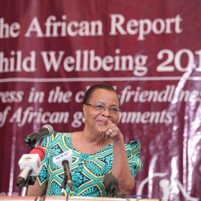 Launch  of the African Report on Child Wellbeing 2018