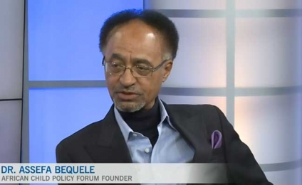 Dr Assefa Bequele on CTV Ottawa during International Development Week 2019