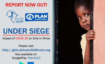 UNDER SIEGE: Impact of COVID-19 on Girls in Africa